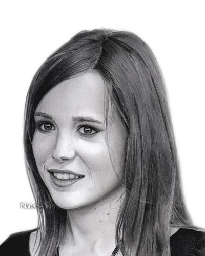Ellen Page by NadaRugiada