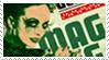 Blind Mag stamp by dmillustration