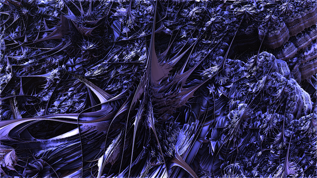 Fractal thistles by singingwithfractals