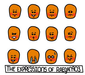 The Expressions of Raegan903