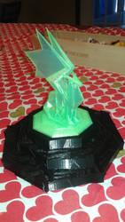 Crystal Dragon Lamp by SYMA24G