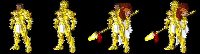 Solar Warrior - All Variations by danelsan