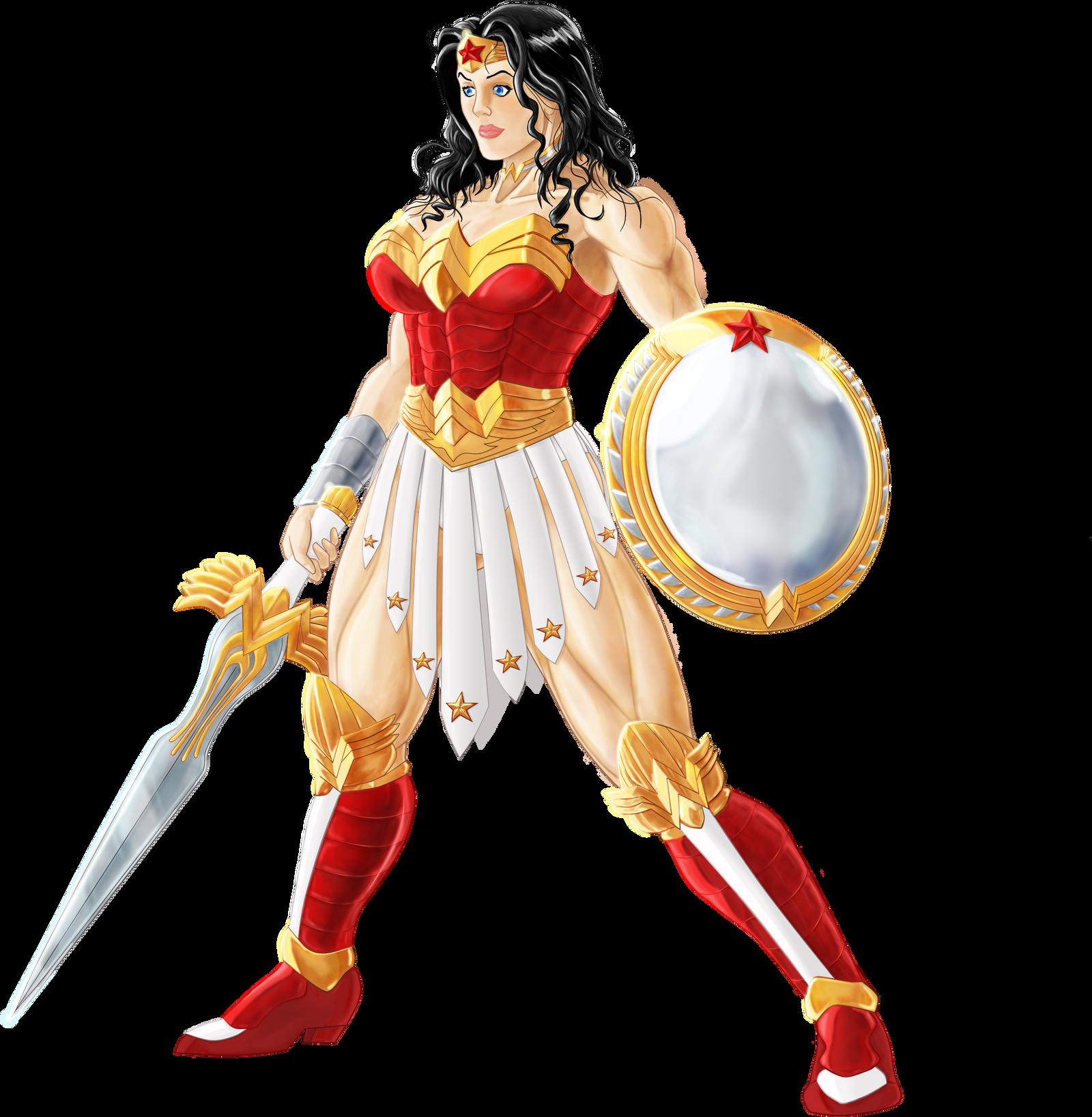 WONDER WOMAN Amazon Warrior by danelsan on DeviantArt