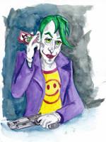 Portrait of The Joker by wpmorse