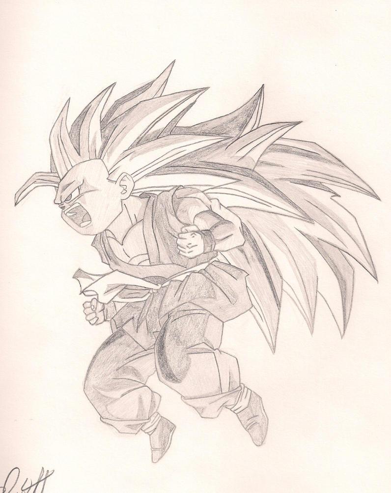 Kid Goku Super Saiyan ...