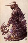 Minotaur Wizard