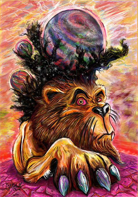 Lion God - King of Worlds by BMarshallARTS