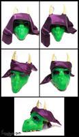 Dragon mask printed assembled