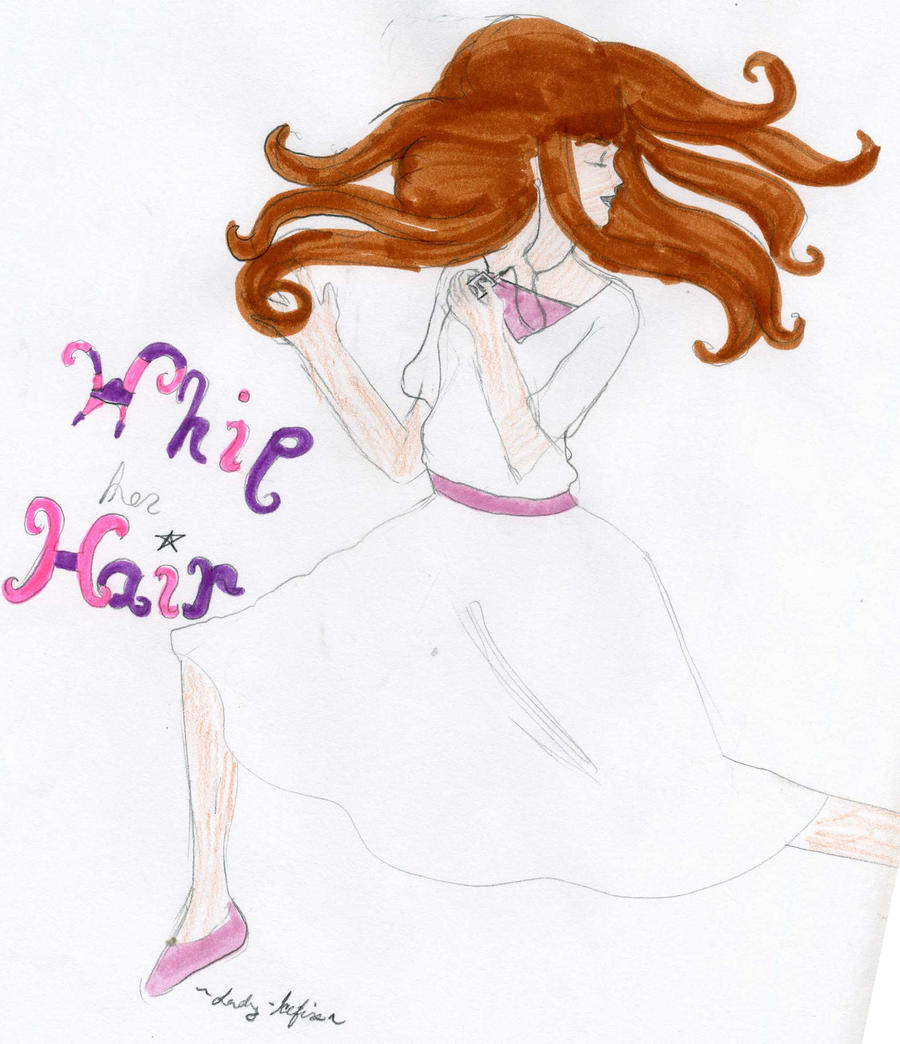 iAnastasia- Whip her Hair by Lady-Icefire