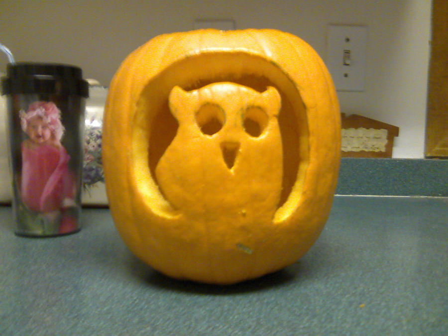 Owl-o-lantern by LuCkYrAiNdRoP