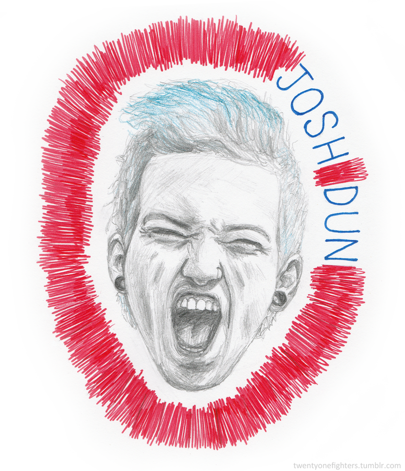 Josh Dun by LuCkYrAiNdRoP