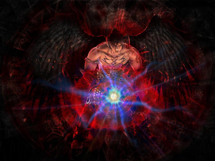 jin kazama wallpaper. Tekken - Devil Jin Kazama v.2