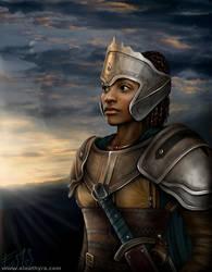 Warrior by eleathyra