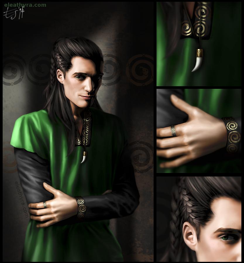 A different take on Loki by eleathyra