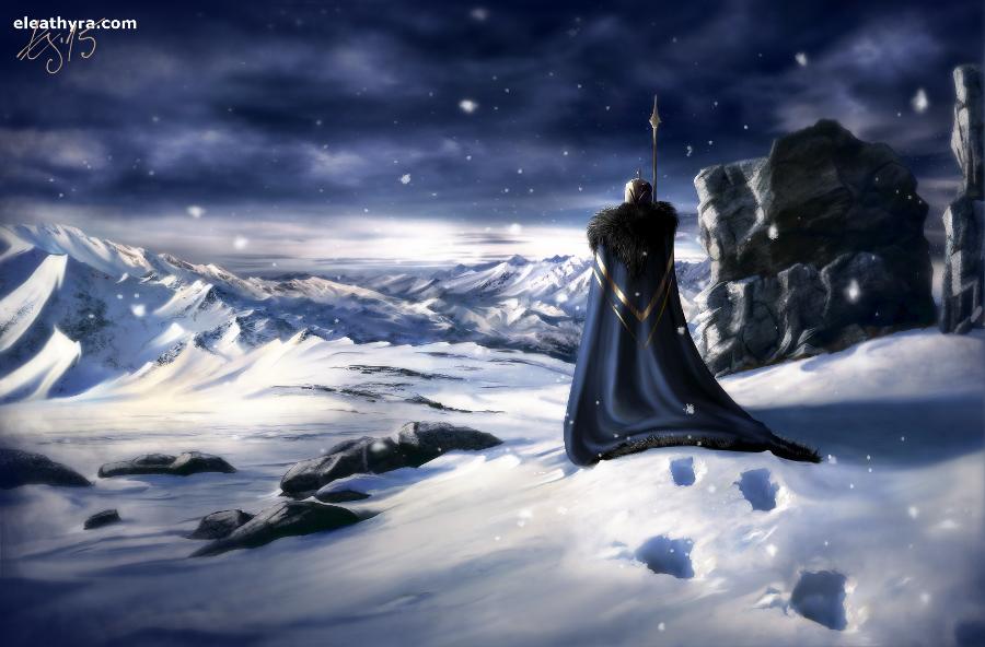 White black blue by eleathyra