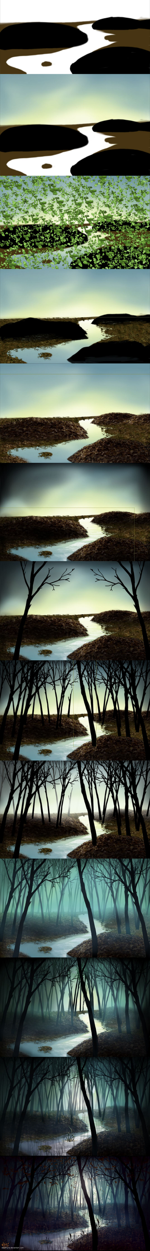 Process of: 27 4 26 Forest by eleathyra