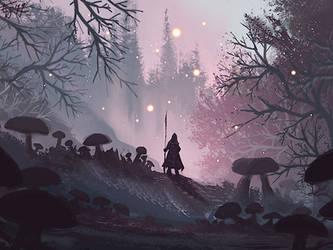 Magical Shrooms by eleathyra