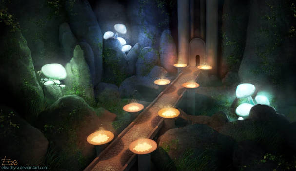 Invited by Light: The Mushroom Cave (with video)