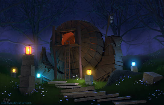 The Wizard's House (with video!)