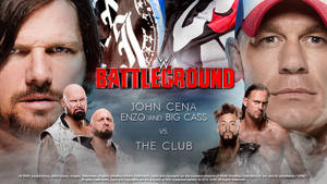 WWE Battleground: Six-Man Tag Team Match