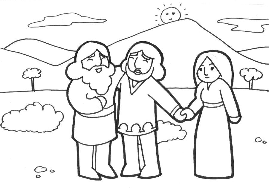 sunday school coloring page by likesototally