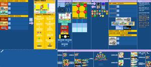 Super Mario Maker PixelArt Materials - Template