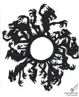 Werewolf Moon Pattern by soudou