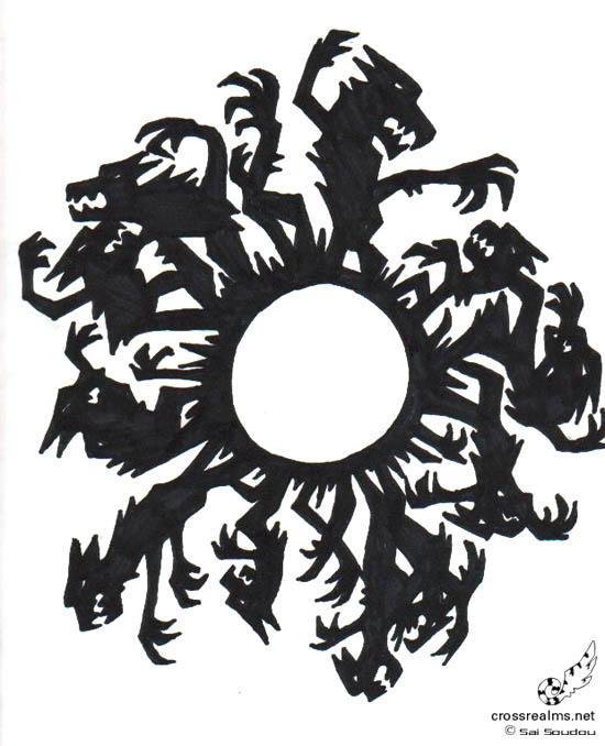 Werewolf Moon Pattern