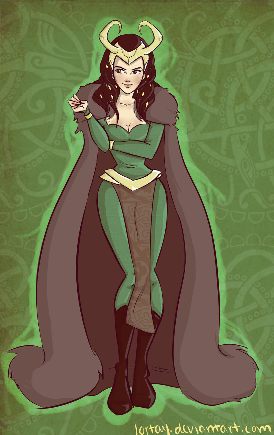 Lady Loki by lortay