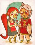 Medli and Komali