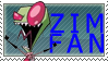 Zim Fan Stamp by Tiny-Toons-Fan