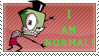 Zim - I AM NORMAL Stamp by Tiny-Toons-Fan