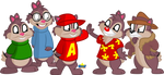 Chipmunks by Tiny-Toons-Fan
