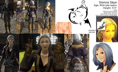 Sienna Reference by SiennaSkye
