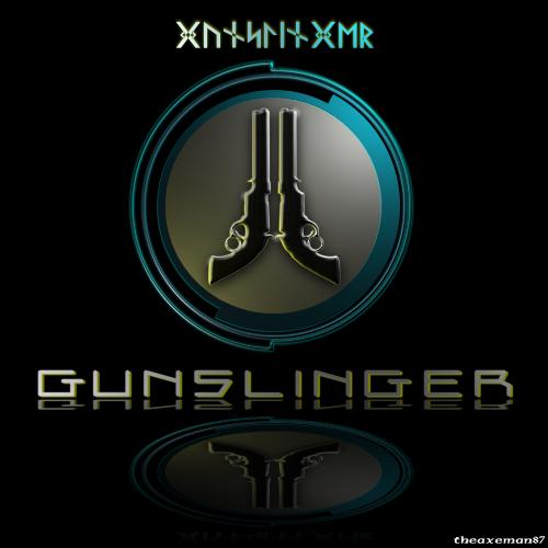 Too Human Character Logo - Gunslinger