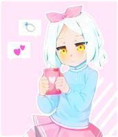 Pastel girl by kitkatlara