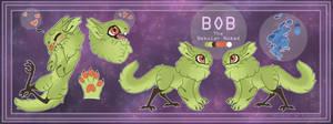 [Contest Entry] Refsheet - Bob by FluffZee