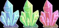 Crystal Trio [F2U] by FluffZee
