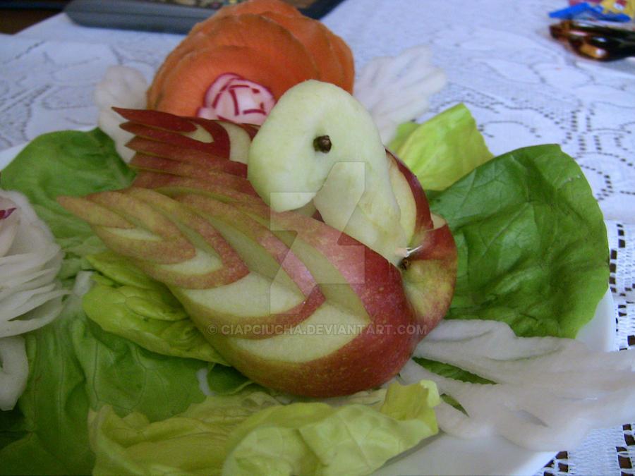 Food carving by ciapciucha on deviantart