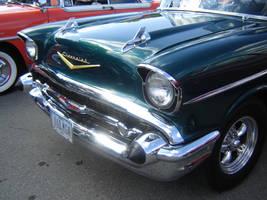 DucktailRun '57 Chevy by geeksr