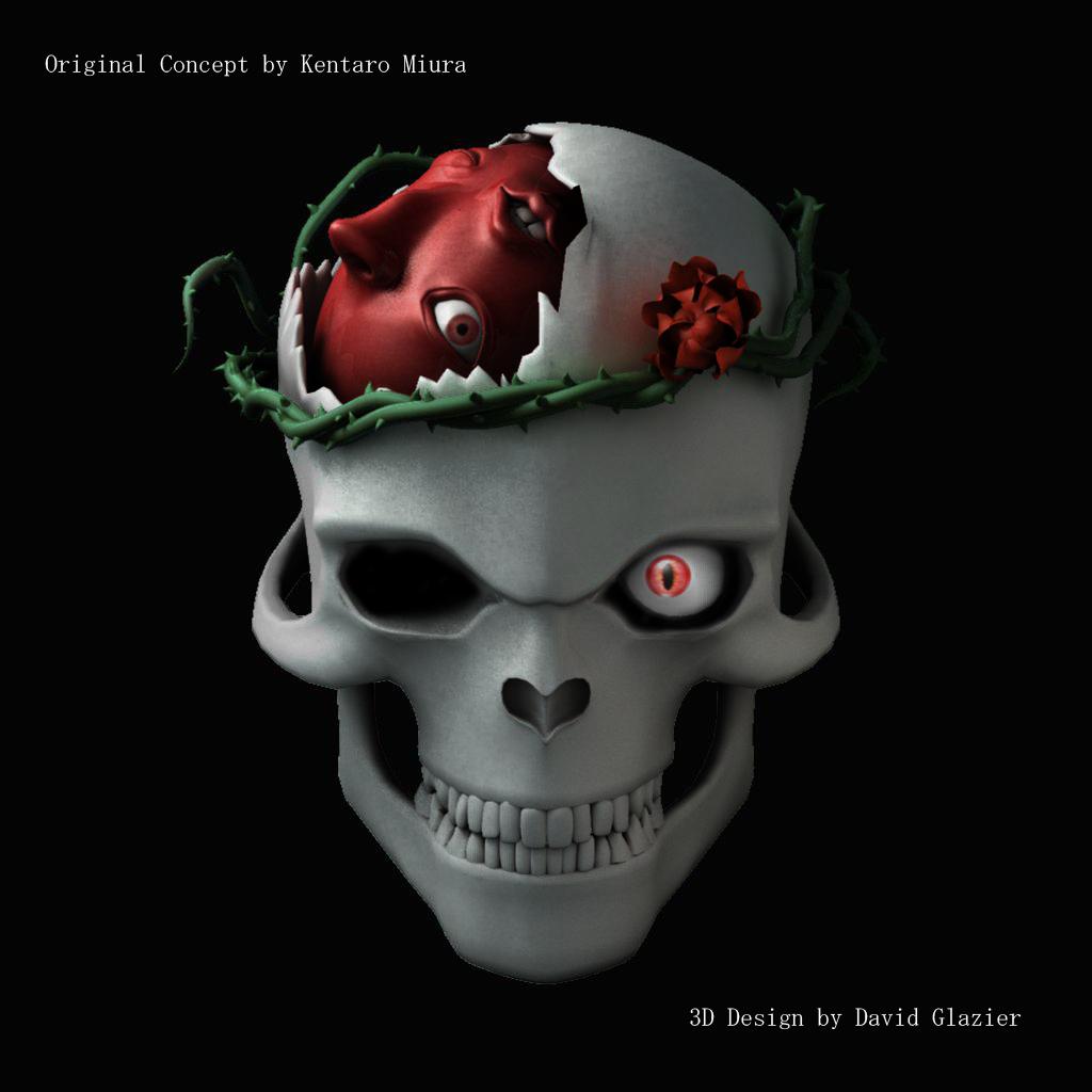 Berserk Skull by darkdragonx92 on DeviantArt