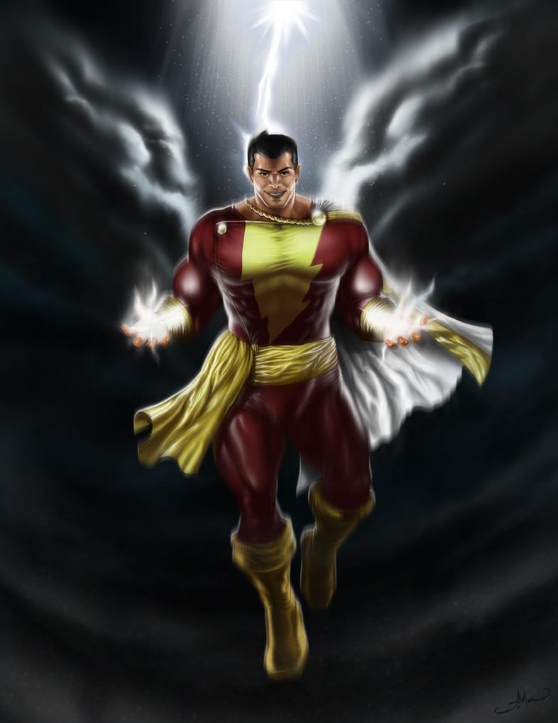 SHAZAM Captain Marvel By JimmArada