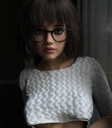 MargotBookworm01 by Eclesi4stiK