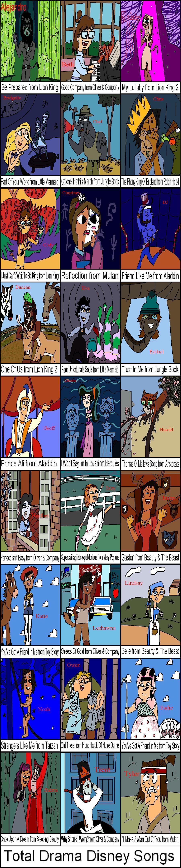 Facile Diamond Dash Total Drama Disney Songs By Invderzimfannumber Dbrhzx