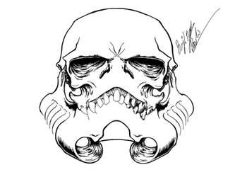 trooper skull by ishmael85