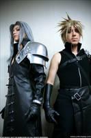 Sephiroth and Cloud - Cosplay by Yukilefay