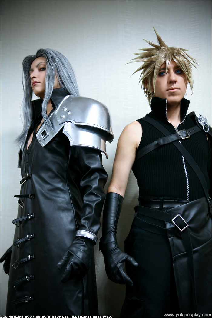 Sephiroth and Cloud - Cosplay by Yukilefay
