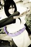 Orochimaru with a kunai