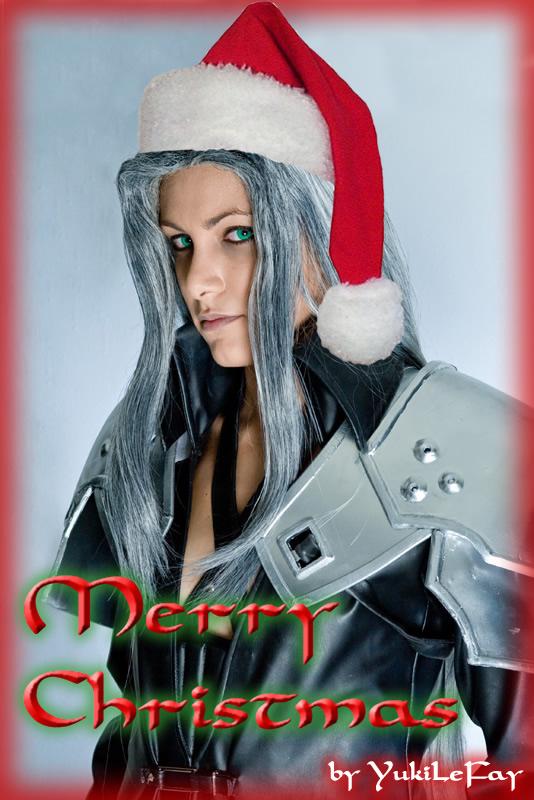 Santa Sephiroth by Yukilefay