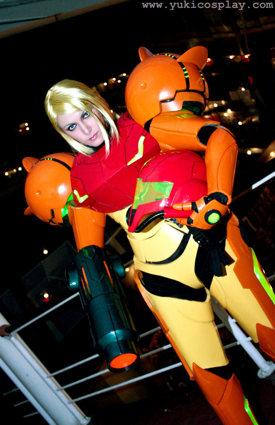 Samus from Metroid by Yukilefay